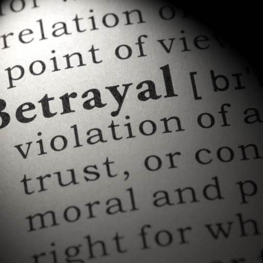 Betrayal definition is - the act of betraying someone or something or the fact of being betrayed : violation of a person's trust or confidence, of a moral standard